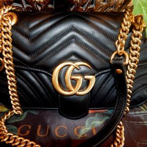 AUTHENTIC SMALL GUCCI MARMONT